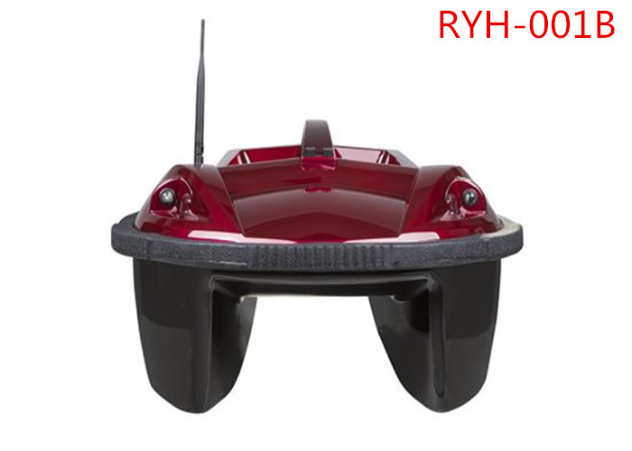 Red Eagle Finder Twin-hull Remote Control GPS Bait Boat With LCD Screen RYH-001B