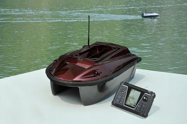 Bateau à télécommande sans fil bi-directionnel d'amorce de Brown GPS - édition améliorée de RYH-001B